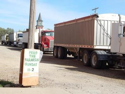 Feed the Farmers helps busy harvesters