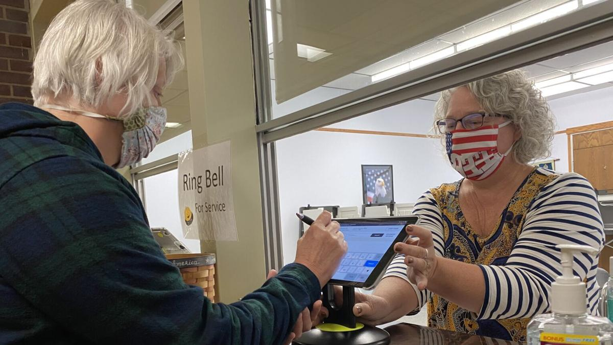 Clerk's office: 926 mail ballots, 334 advance thus far