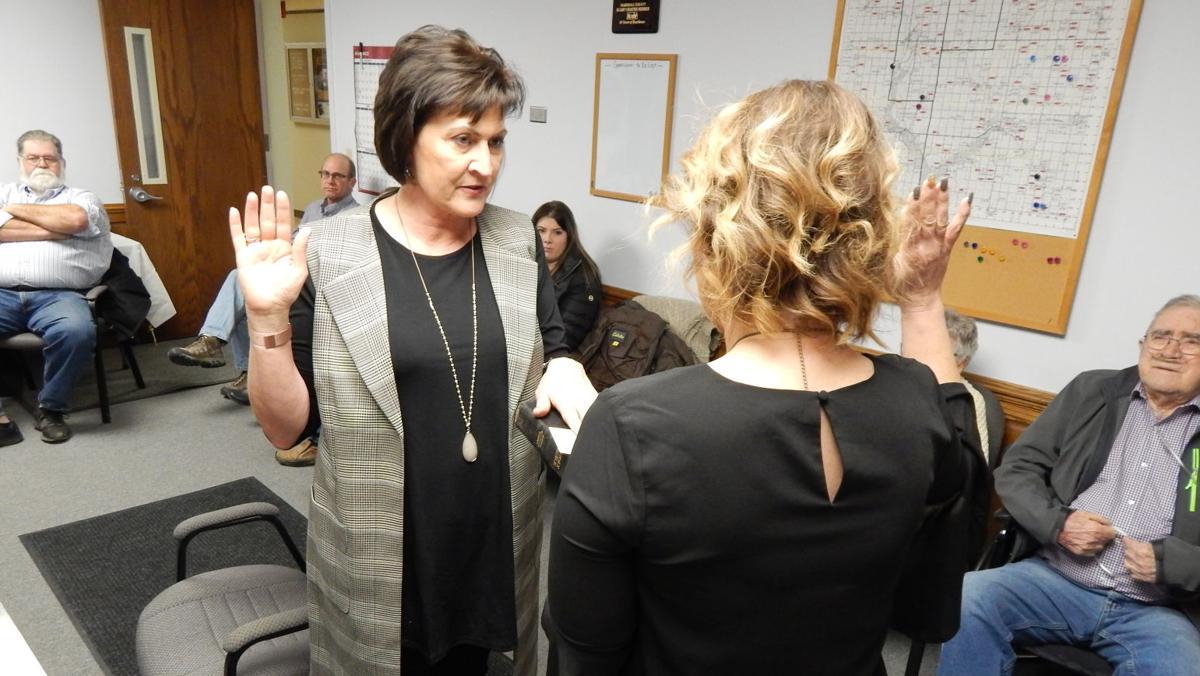 Kickhaefer sworn in as commissioner