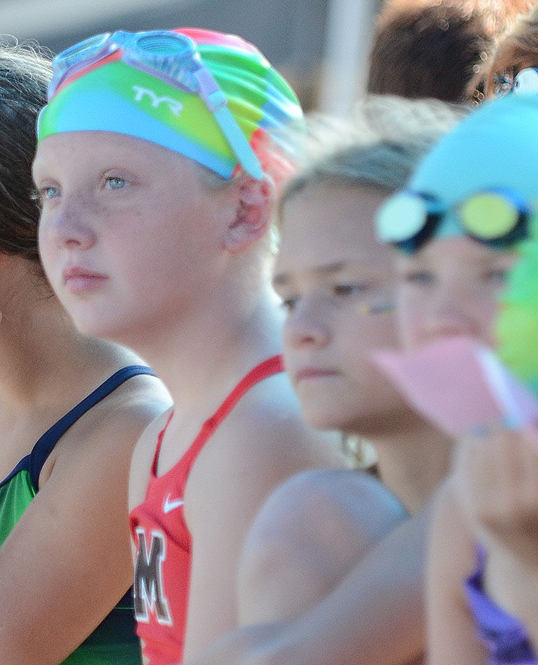 Marysville Swim Team members