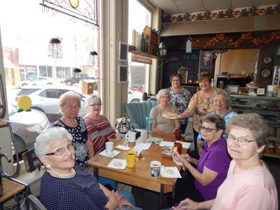 Elsie Grace's coffee group