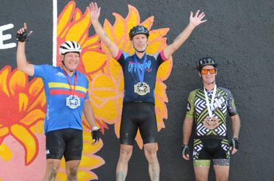 70-mile dash winners