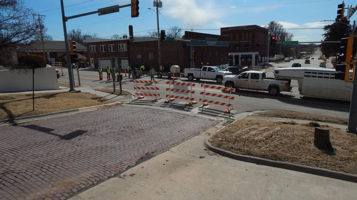 Highways' intersection work begins