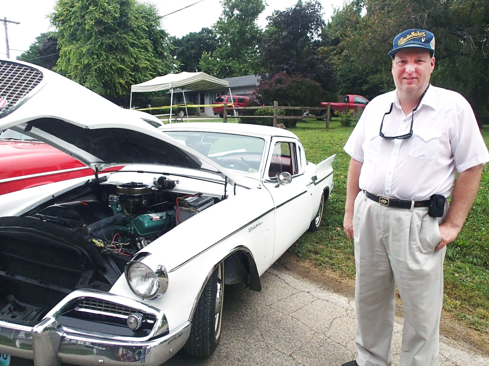 Studebaker Owners Ride In Style At Graham Street Fair