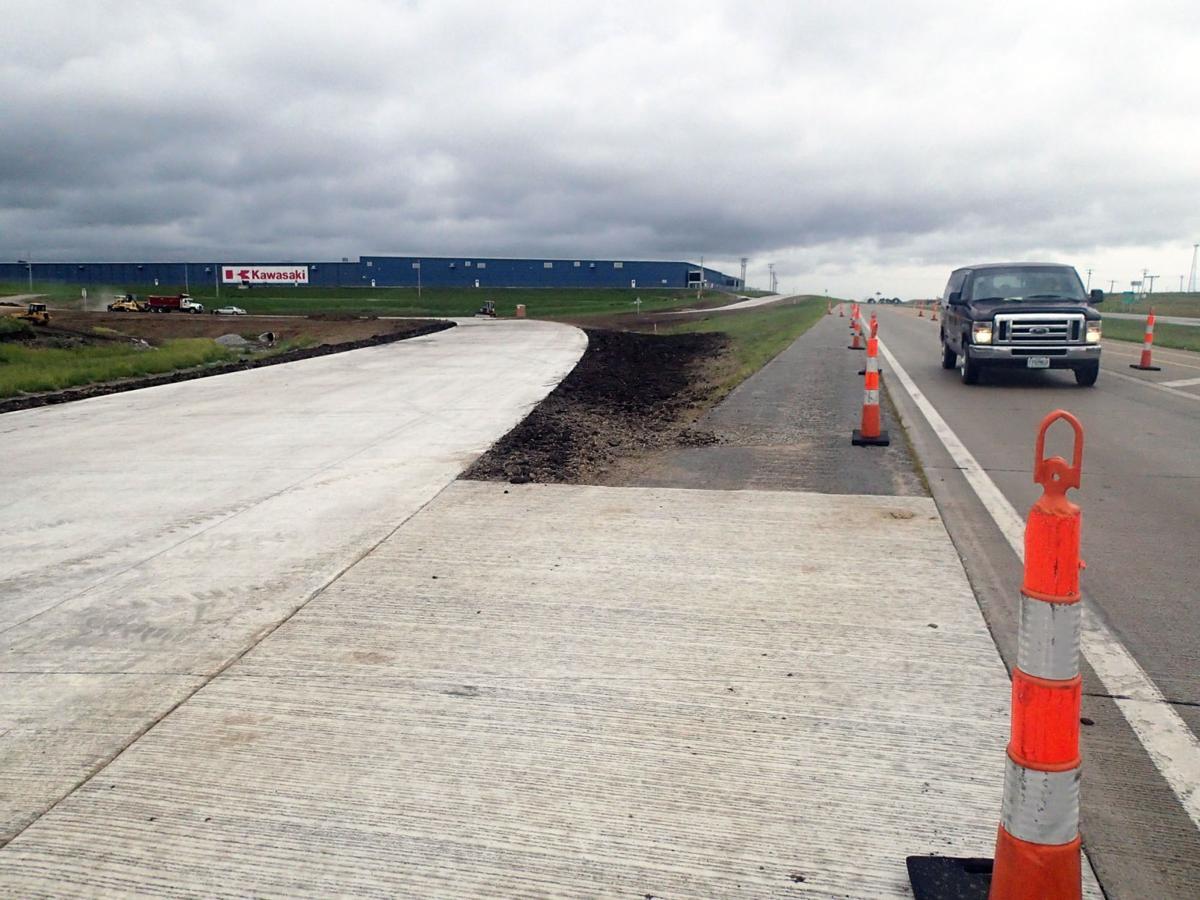 Dedication scheduled for hwy 71 traffic ramp news for Kawasaki motors maryville mo