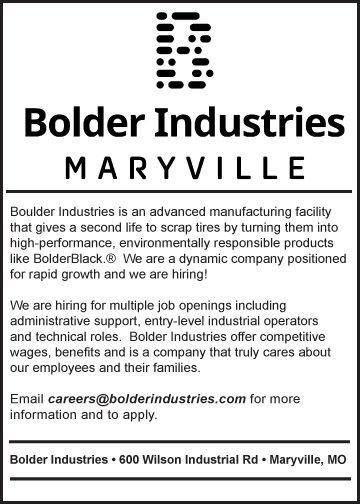 Bolder Industries has multiple openings