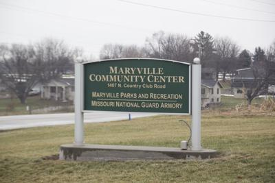 Maryville Community Center sign
