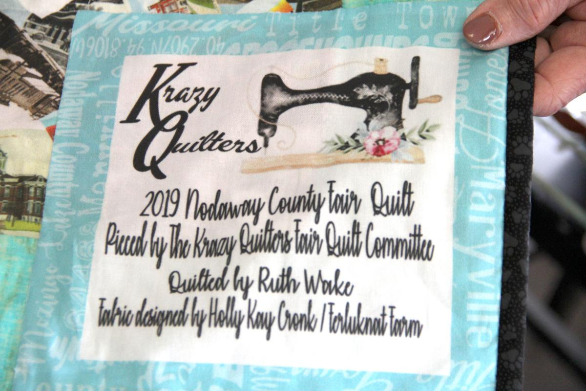 Krazy Quilters to display fair quilt | Features | Maryville