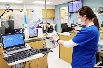 Mosaic ER nurse