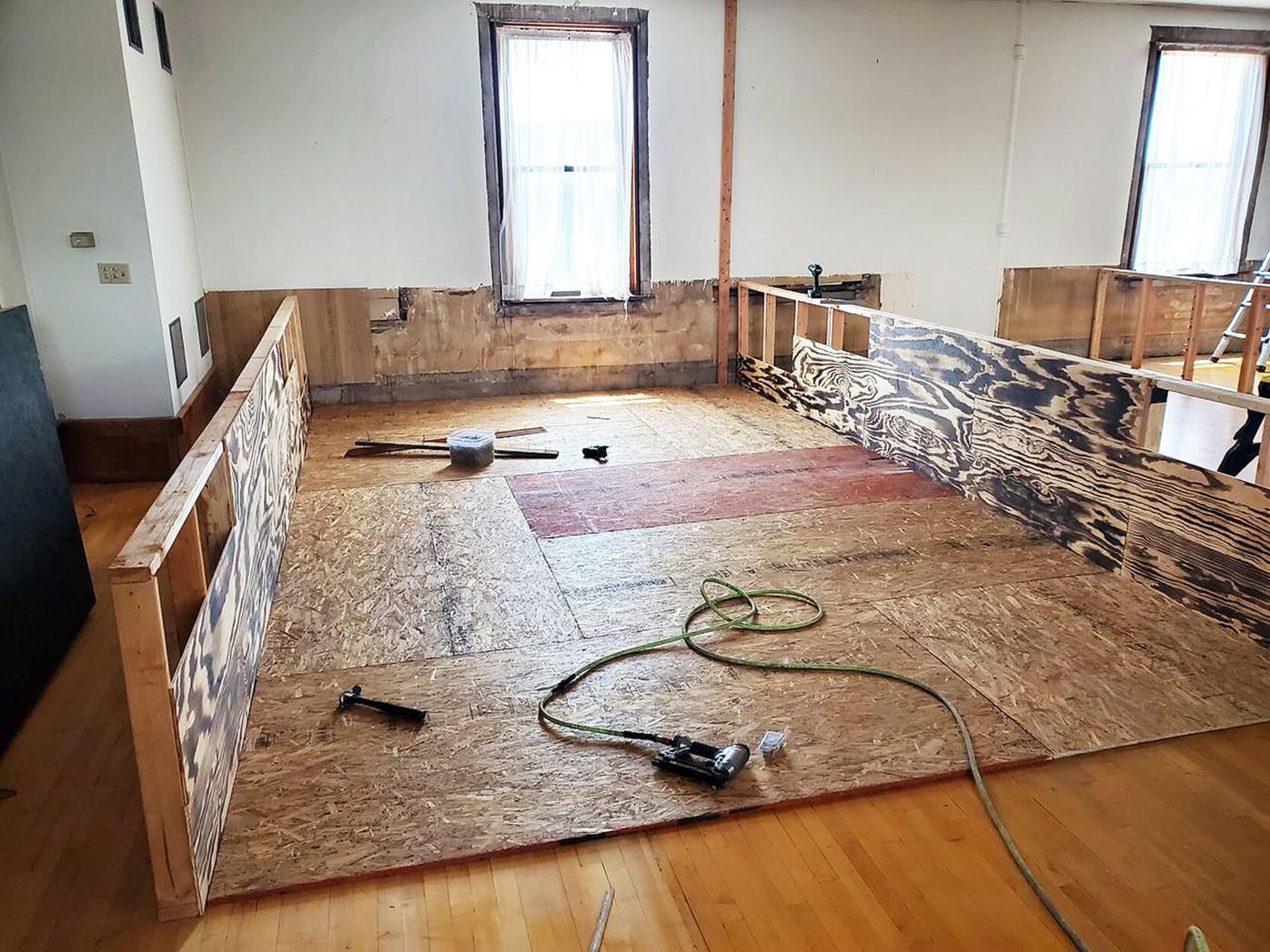 Elks building goes through changes