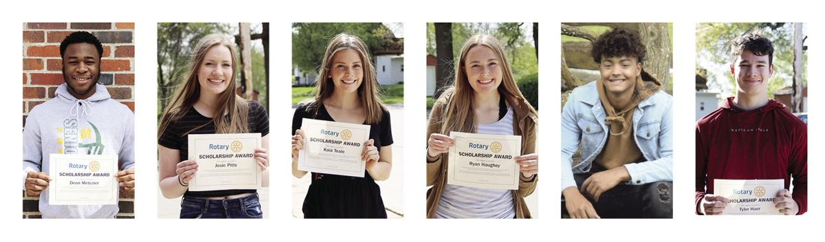 Rotary Students of the Month March, April, May