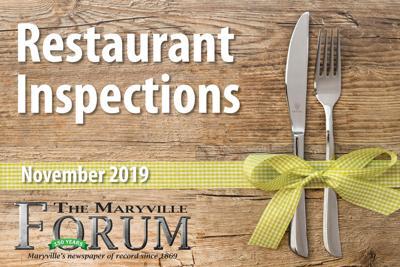 Restaurant Inspections November 2019