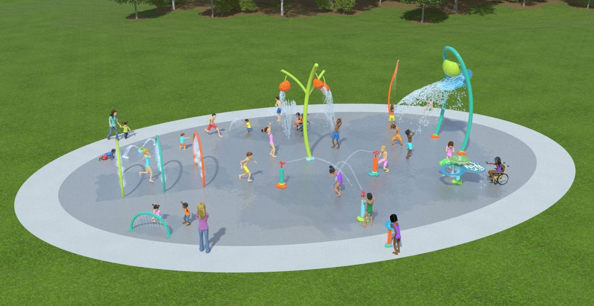 Splash Pad Concept 1