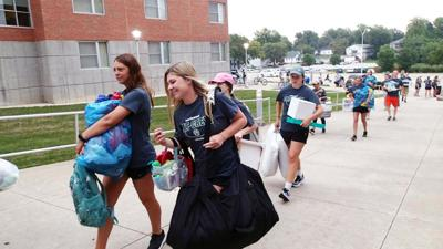 Northwest move-in day