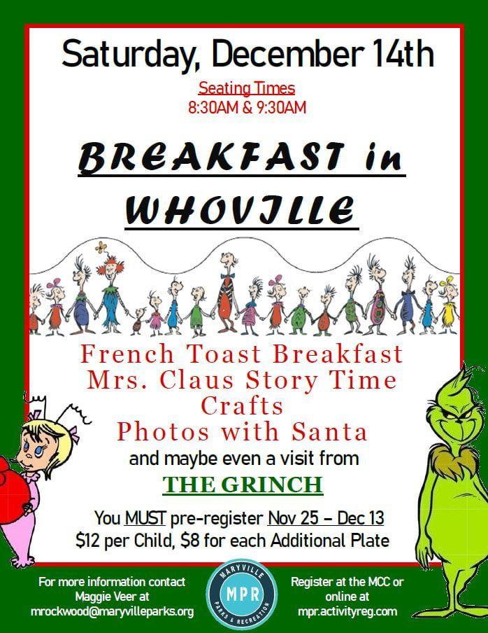 Breakfast in Whoville