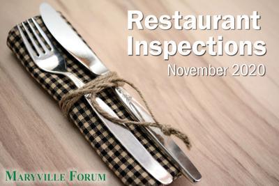 Restaurant Inspections: November 2020
