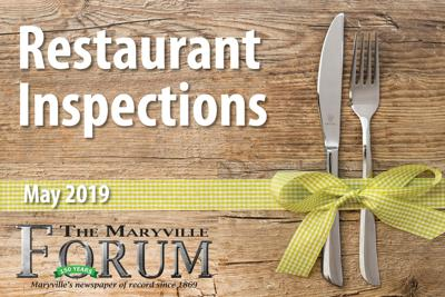 Restaurant Inspections: May 2019