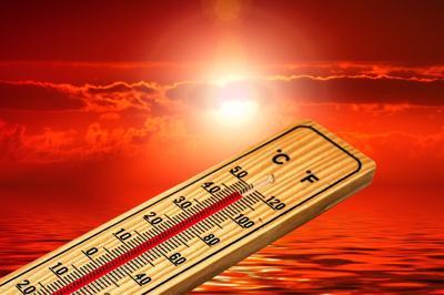 Higher temperature