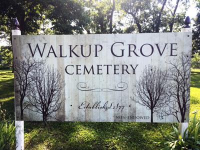 Walkup Grove memorial service