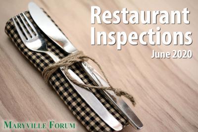 Restaurant Inspections June 2020