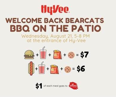 Welcome Back Bearcats BBQ