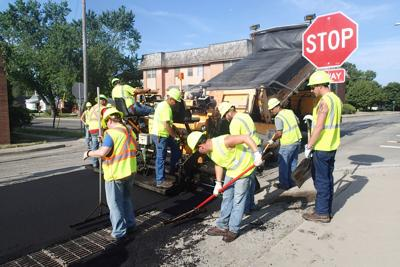 West First repaving