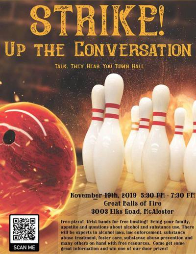 5 THINGS TO KNOW: Stop Substance Abuse Pittsburg County Taskforce hosts bowling event