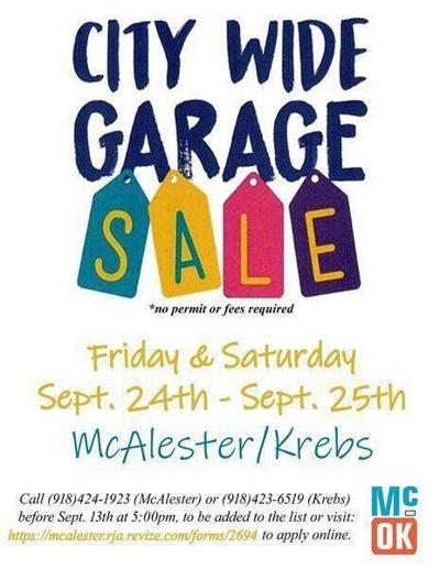 TO DO THIS WEEKEND: Garage sales, car show, bluegrass, Oktoberfest, and more