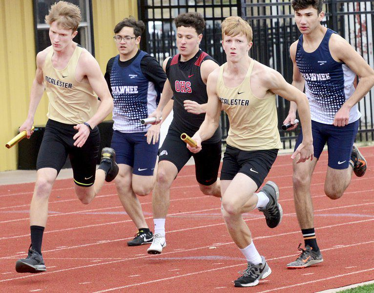 Wright takes over McAlester track