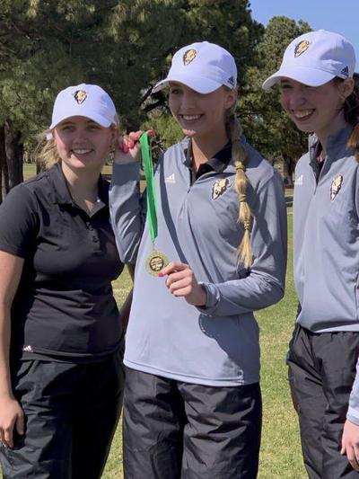 GIRLS GOLF: Lady Buffs win hardware in back-to-back tournaments