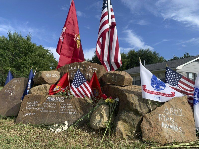 McAlester man memorializes 13 service members killed in Kabul