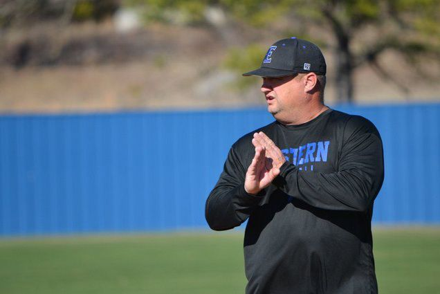 kirk kelley the athletic director and head baseball coach at eastern oklahoma state college was recently named the the athletic director at peru state