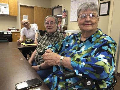 Retirement home residents recall moon landing