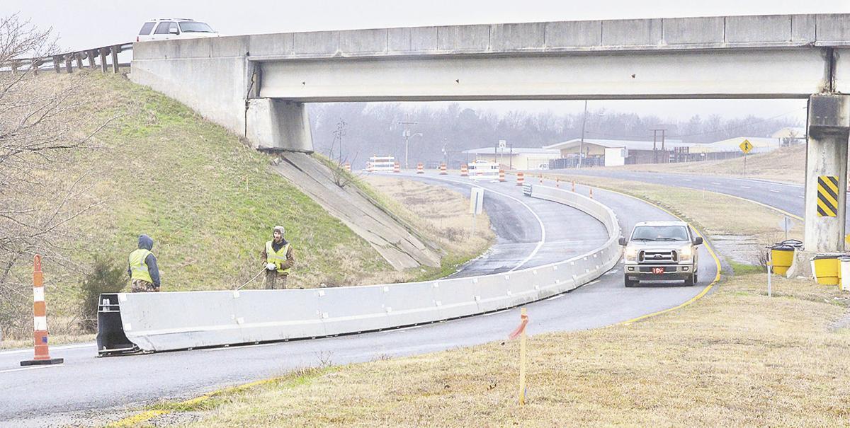 Krebs road work