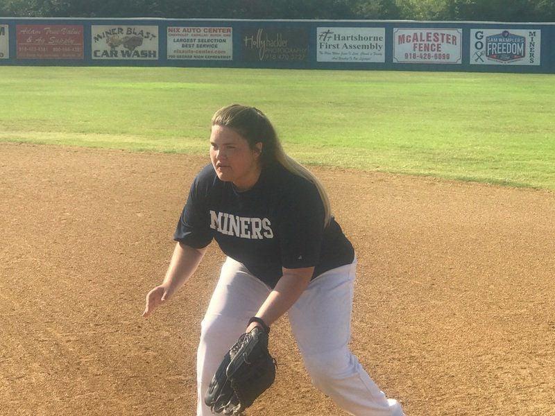 Hartshorne softball defense