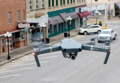 Drone over McAlester