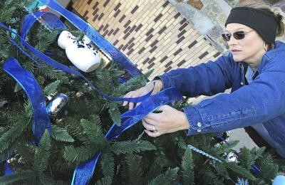 City employees create downtown wonderland