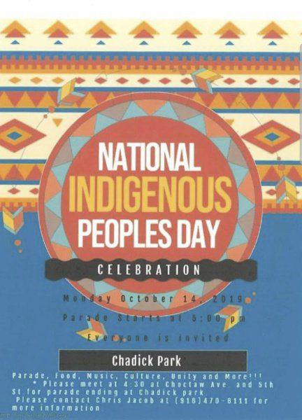 5 THINGS TO KNOW: How to celebrate Indigenous Peoples Day in McAlester