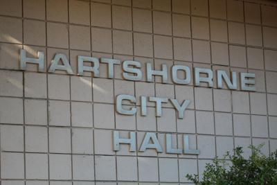 Hartshorne city hall
