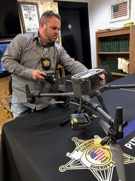 Something new in the air at sheriff's office