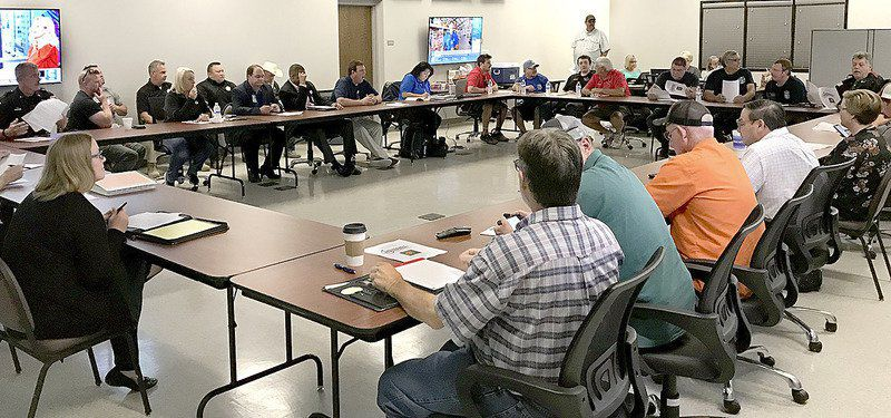 Emergency responders hold Level 2 storm preparedness meet