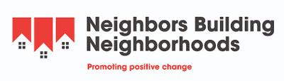 Neighbors building Neighborhoods logo