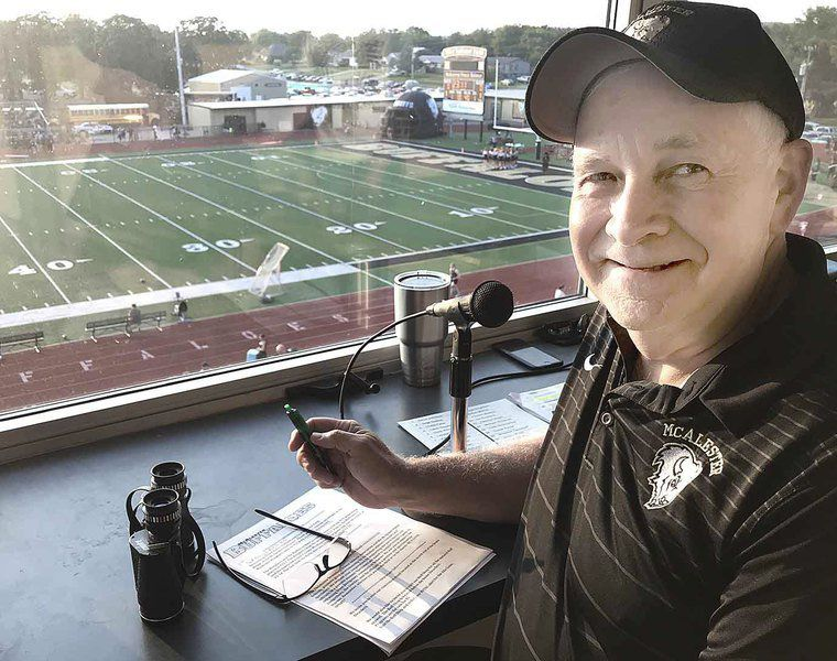 'I love McAlester': Longtime football announcer reflects on career