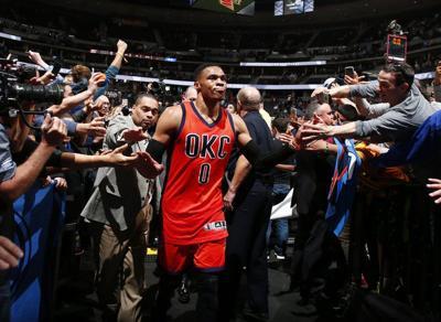 Russell Westbrook breaks triple-double record, hits game-winner in
