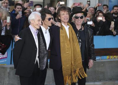 RAMBLIN' ROUND: Stones roll back with 'Living in a Ghost Town'