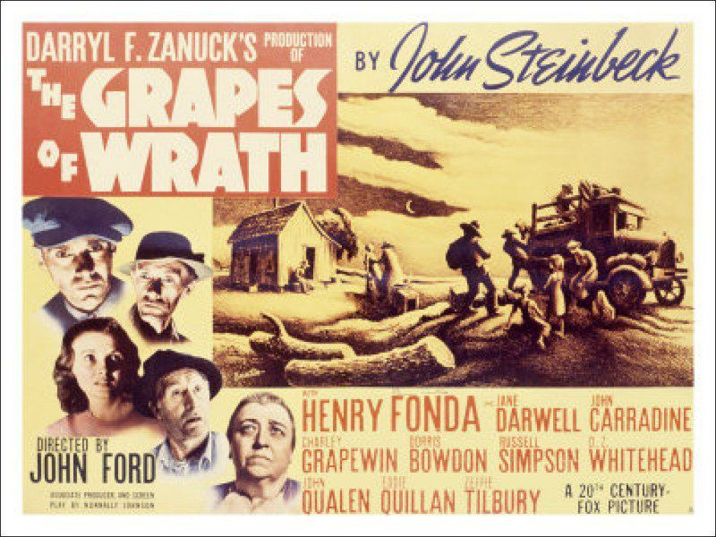 CATHEY: 'The Grapes of Wrath' begins in McAlester | Opinion ...