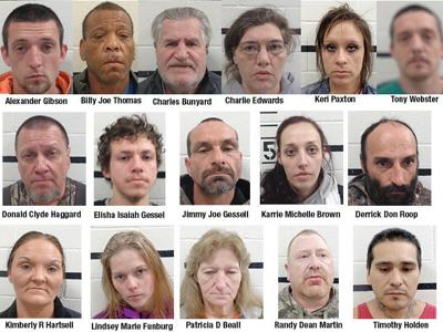 16 arrested during Pittsburg County operation | Gallery