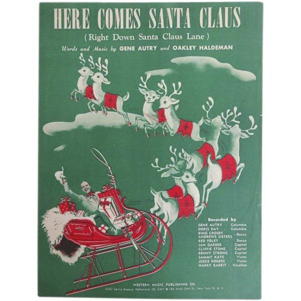CATHEY: 'Here Comes Santa Claus' and the namesake of Gene Autry, Oklahoma