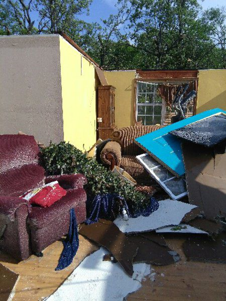 Benefit set for woman who lost home to tornado