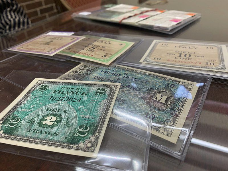 Annual coin show to feature military currency